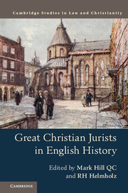 Great Chirstian Jurists in English History